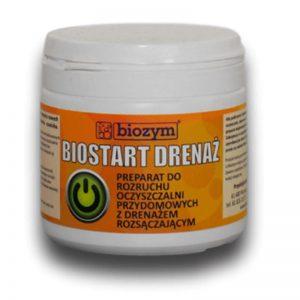 BioStart drenaż - starter oczyszczalni jednokomorowych