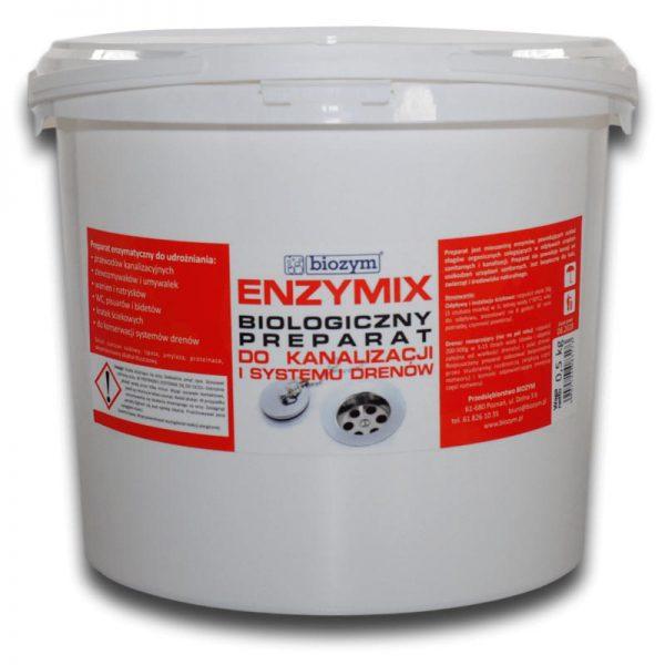 Enzymix enzymatyczny udrażniacz drenaży i odpływów 5kg