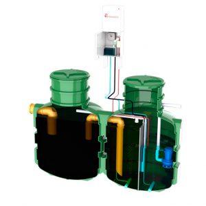 Oczyszczalnia Biologiczna BioSolid 4 MULTI